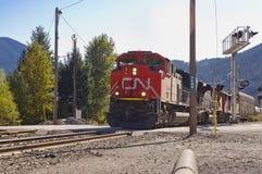 Train crossing Stock Photo