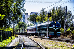 The Train Royalty Free Stock Images