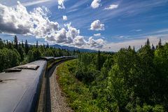 Train d'Alaska Image stock