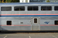 Train d'Amtrak Image stock