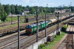 Train d'essence Photo libre de droits