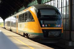 Train d'ODEG Photo stock