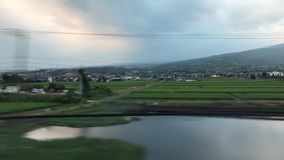Train de balle, Japon banque de vidéos