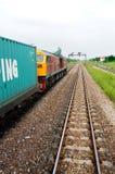 Train de cargaison Photographie stock