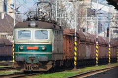 Train de cargaison Photographie stock libre de droits