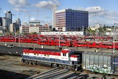 Train de chariot de San Diego Photos libres de droits
