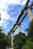 Train de ciel photographie stock
