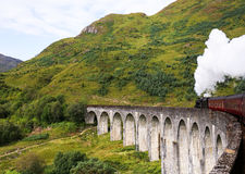 Train de courant Image stock