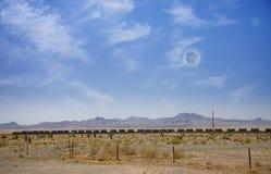 Train de désert Image libre de droits
