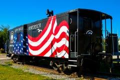 Train de dîner de Newport photographie stock