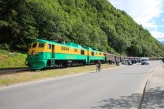 Train de ` de Juneau Image libre de droits
