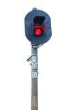 Train de feu de signalisation Photographie stock