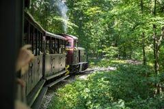 Train de forêt de Lillafured, Hongrie Photo libre de droits