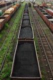 Train de fret Photo libre de droits