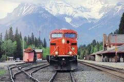 Train de fret de Calgary image stock