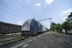 Train de fret chinois Photographie stock