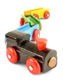 Train de jouet Images libres de droits