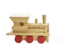 train de jouet en bois Image libre de droits
