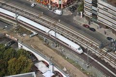 Train de l'Allemagne image stock