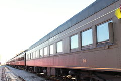 Train de luxe Amérique Image libre de droits