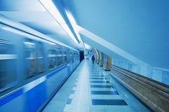 train de métro Photo stock