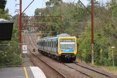 Train de métro de Melbourne Photographie stock