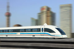 Train de Maglev photo stock