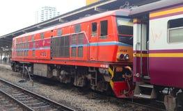 Train de masse moderne Bangkok Thaïlande pour le transport de passagers photographie stock libre de droits