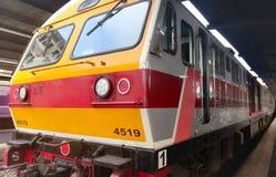 Train de masse moderne Bangkok Tha?lande pour le transport de passagers photographie stock libre de droits