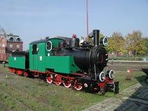 Train de mesure étroite Photos stock