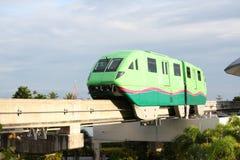 train de monorail Photographie stock libre de droits