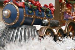 Train de Noël Photographie stock libre de droits