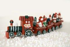 Train de Noël Photos libres de droits