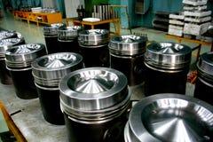 train de pistons de moteur diesel Photographie stock