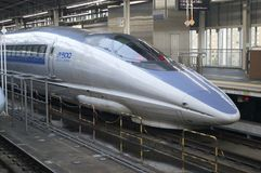 Train de remboursement in fine japonais Photographie stock libre de droits