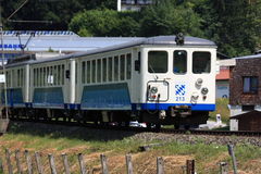 Train de roue dentée en Bavière images libres de droits