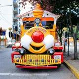 Train de touristes, San Carlos de Bariloche, Argentine Images libres de droits
