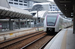 Train de transit de KLIA Photo libre de droits