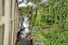 Train de vapeur photo stock