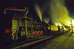 Train de vapeur Photos libres de droits