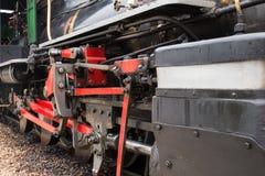 Train de vapeur au Brésil Photo stock