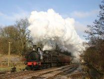 Train de vapeur dans le pays de Bronte Image libre de droits