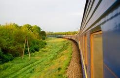 Train de vapeur de vintage photographie stock