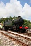 Train de vapeur du Devon photos stock