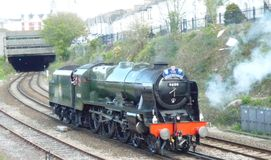 Train de vapeur le grand Britainix dans Plymouth Photos libres de droits