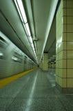 Train de Vert de souterrain photo stock