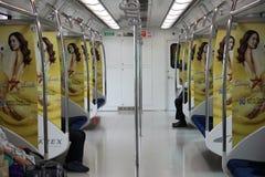 Train de ville de Séoul Photographie stock