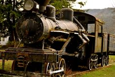 Train de vintage Photos stock
