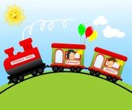 Train de week-end Illustration Stock