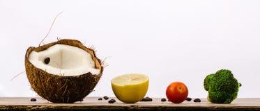 Train des fruits et légumes Images libres de droits